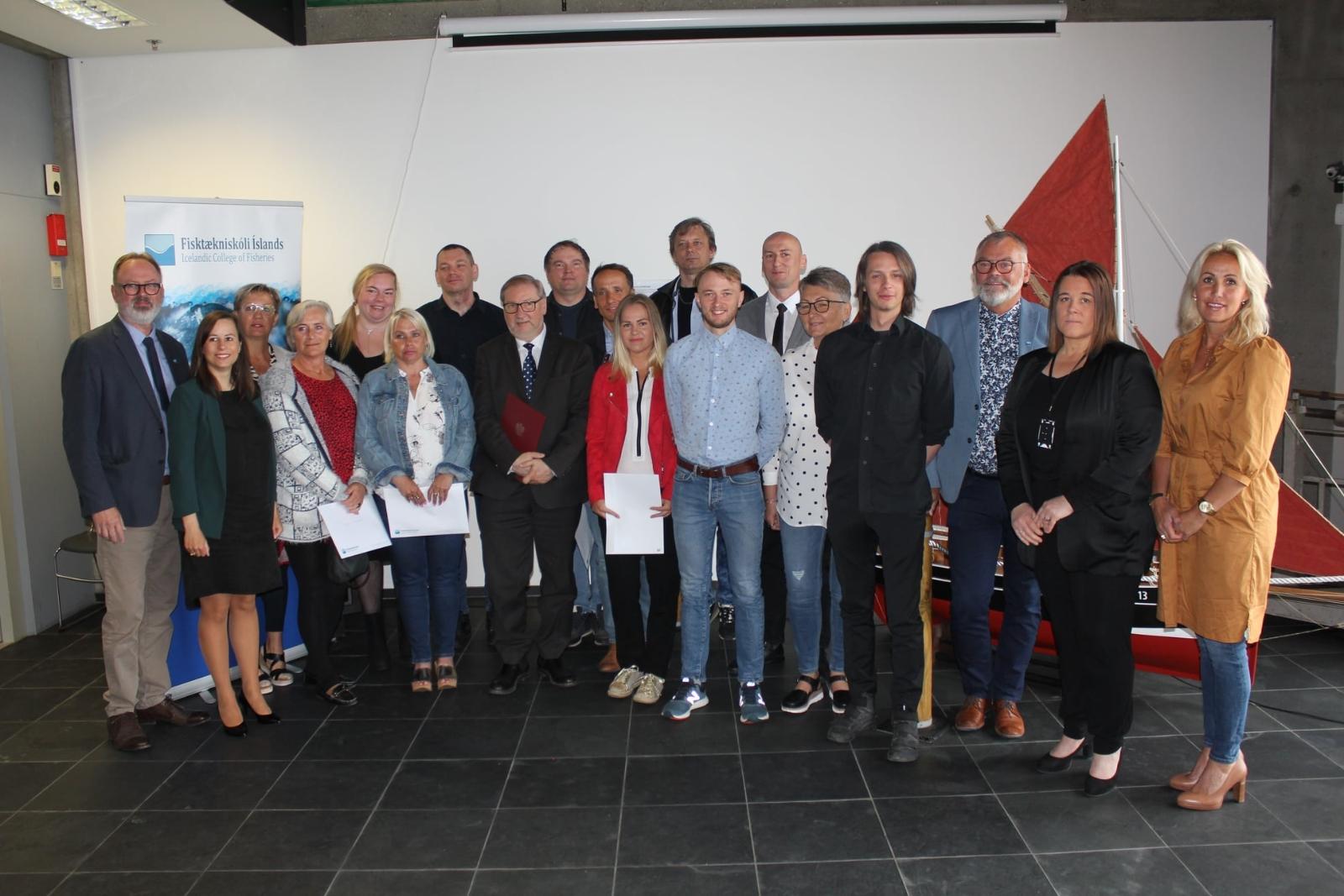 Mynd fyrir Stór dagur hjá Fisktækniskóla íslands