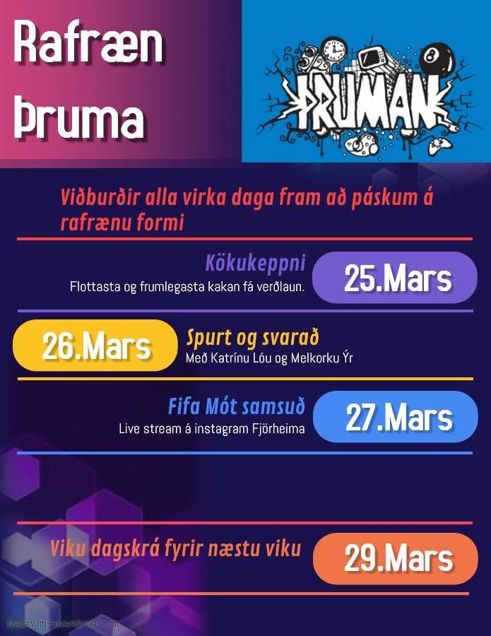 Mynd fyrir Rafræn Þruma