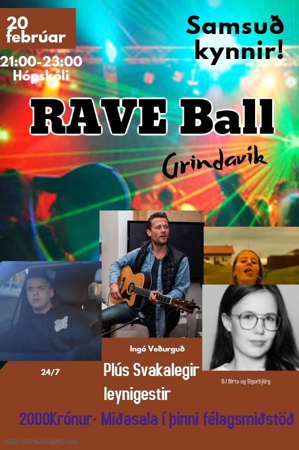 Mynd fyrir Rave ball í Grindavík