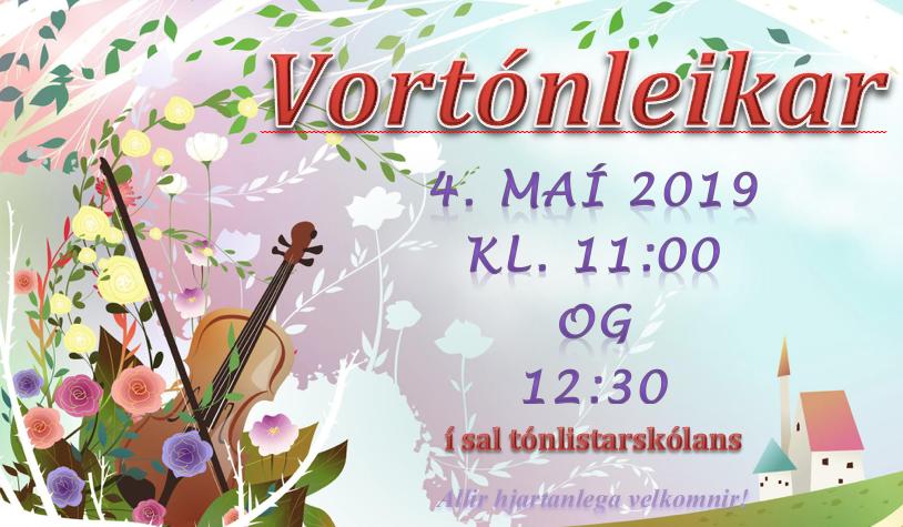 Mynd fyrir Vortónleikar tónlistarskólans 4. maí