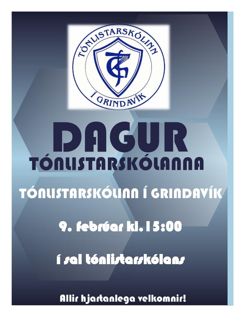 Dagur tónlistarskólanna 9. Febrúar 2019