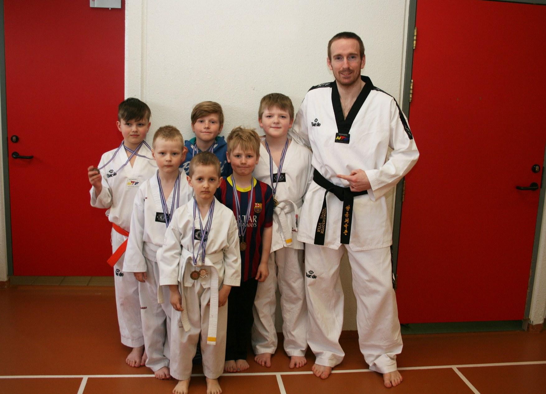 Góður árangur Grindvíkinga í taekwondo