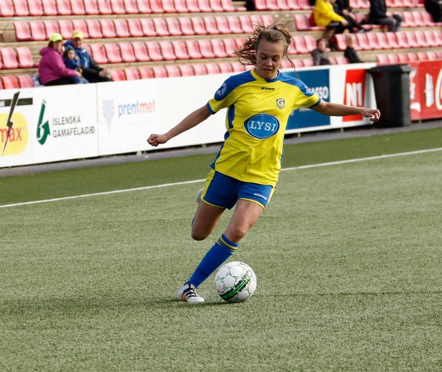 Dröfn Einarsdóttir valin í U19 landsliðið fyrir undankeppni EM