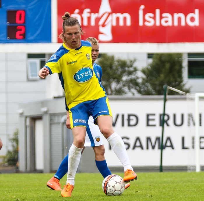 Gunnar Þorsteinsson besti leikmaður 14. umferðar