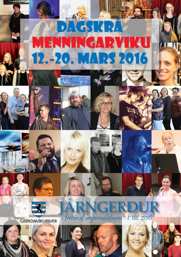 Menningarvikan 2016: Suðupottur sýninga, tónleika, viðburða, námskeiða, leikrita og handverkshátíðar
