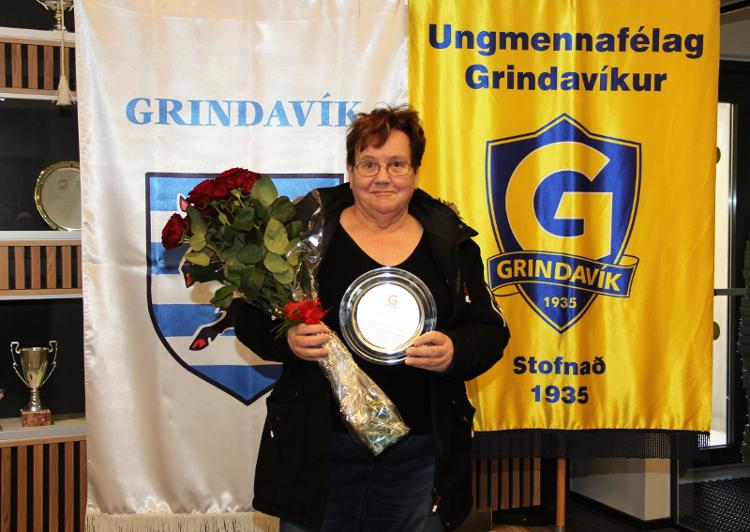 Kristólína Þorláksdóttir er stuðningsmaður ársins 2016
