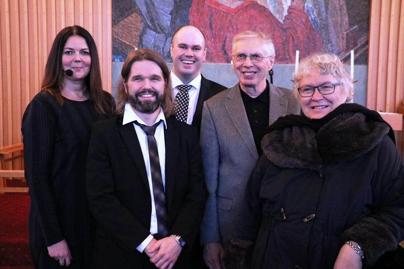 Barnabörnin mættu á Kaldalónstónleikana - Húsfyllir hjá Blítt og létt