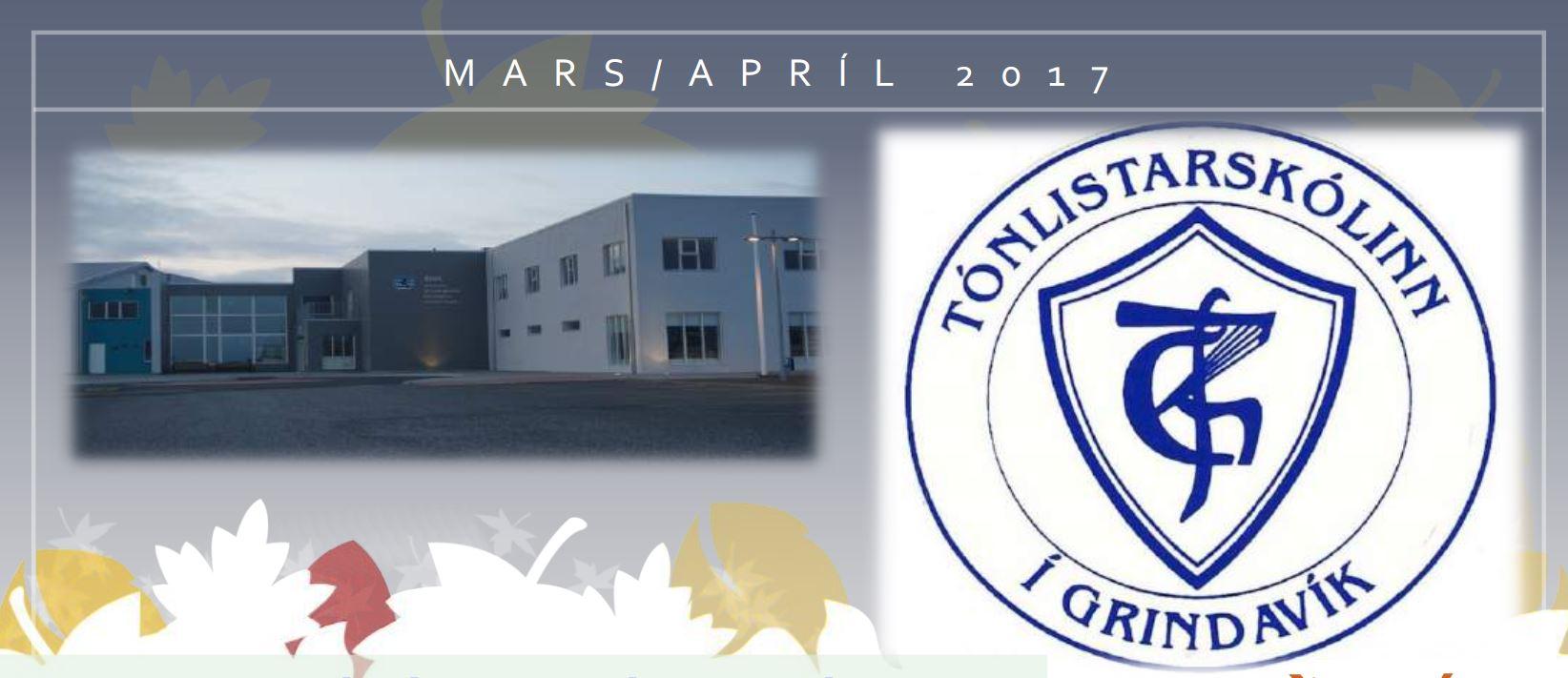 Fréttablað tónlistarskólans fyrir mars og apríl komið út