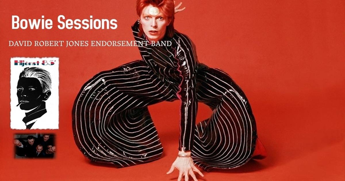 Mynd fyrir David Bowie tribute tónleikar á Salthúsinu kl. 21:30