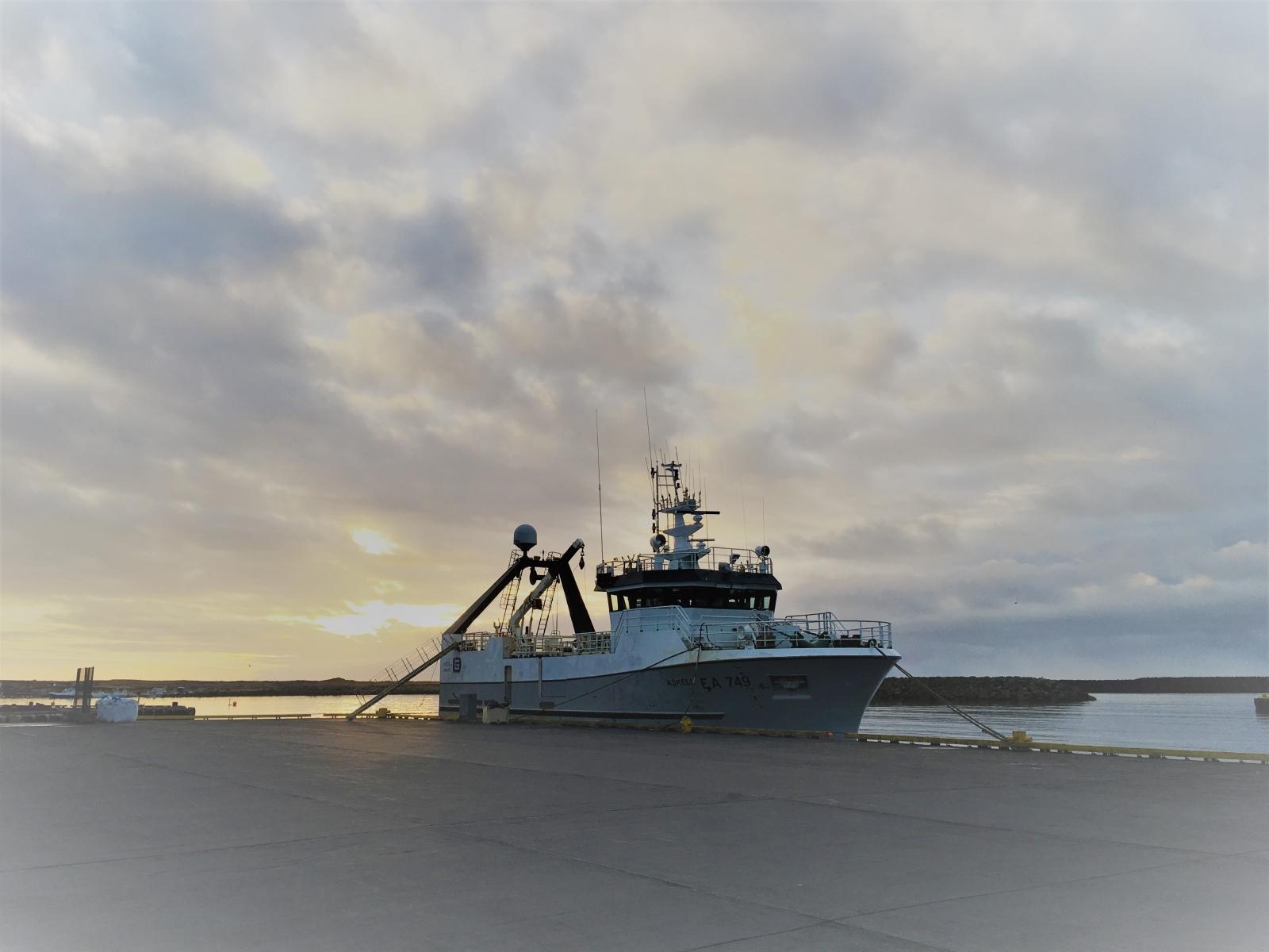 Vörður og Áskell seldir. Ný skip væntanleg