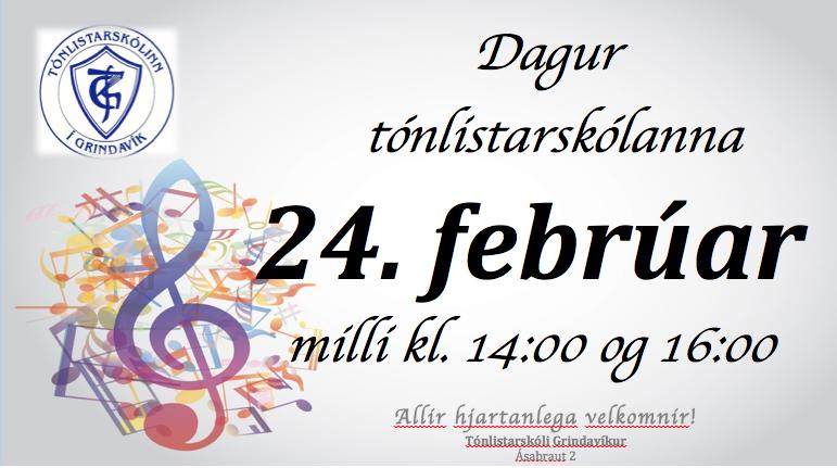 Mynd fyrir Dagur tónlistarskólanna kl. 14:00