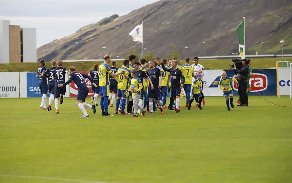 Mynd fyrir Grindvíkingar völtuðu yfir Keflavík í grannaslagnum