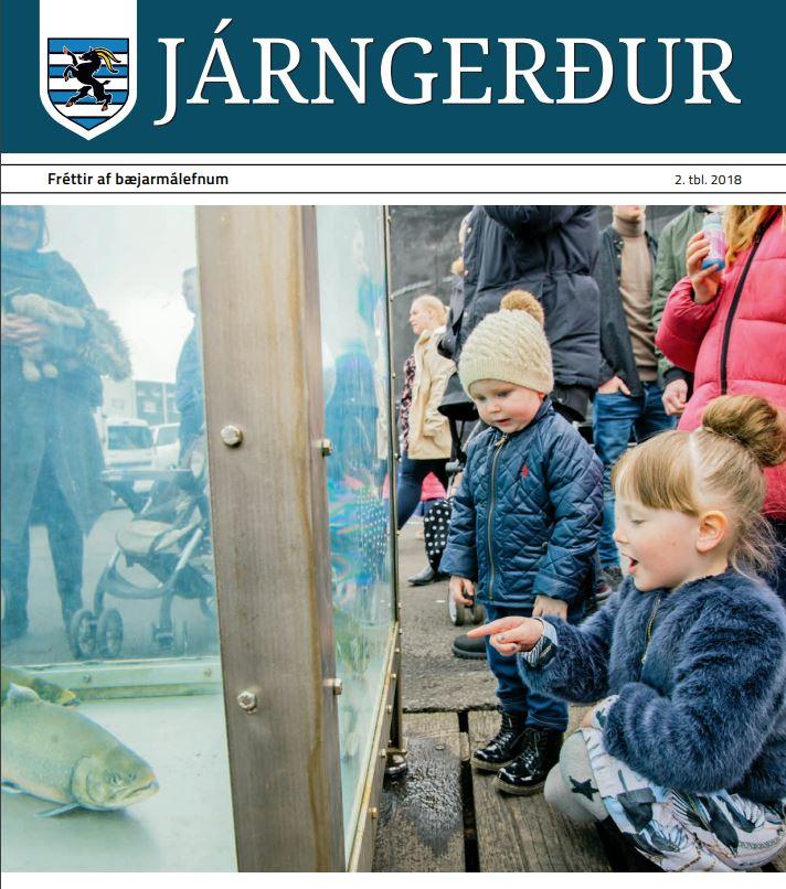 Járngerður kemur út í dag, stútfull af efni að vanda
