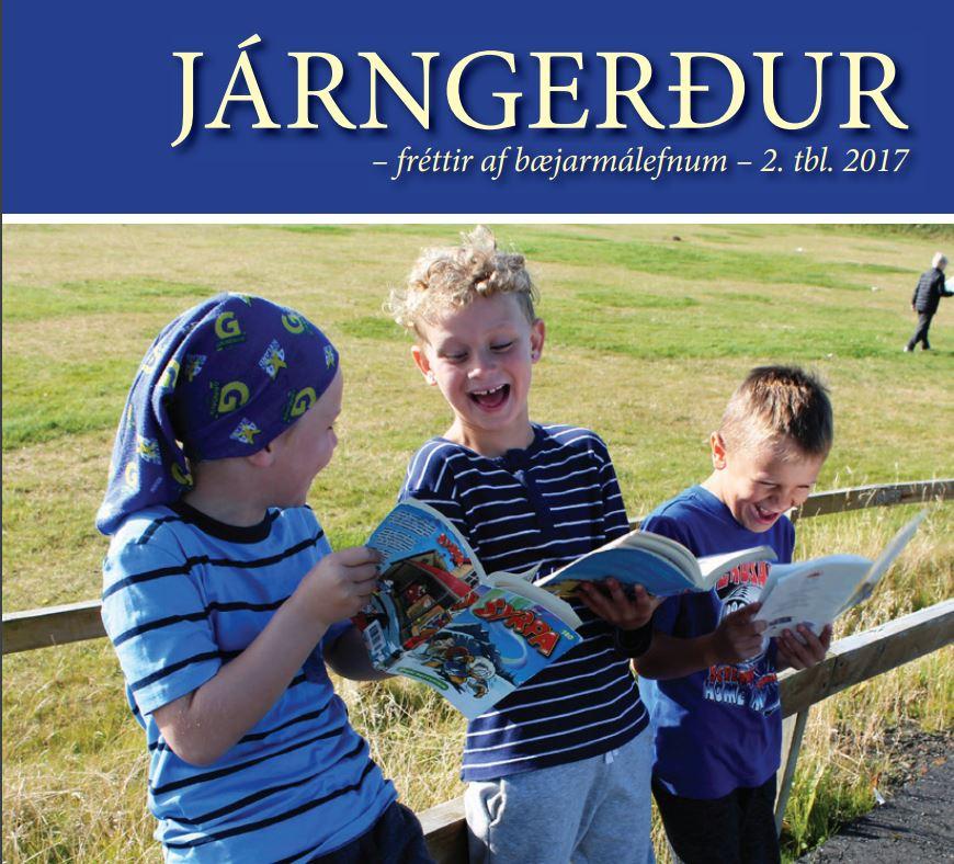 Mynd fyrir Vilt þú eiga forsíðumynd Járngerðar?