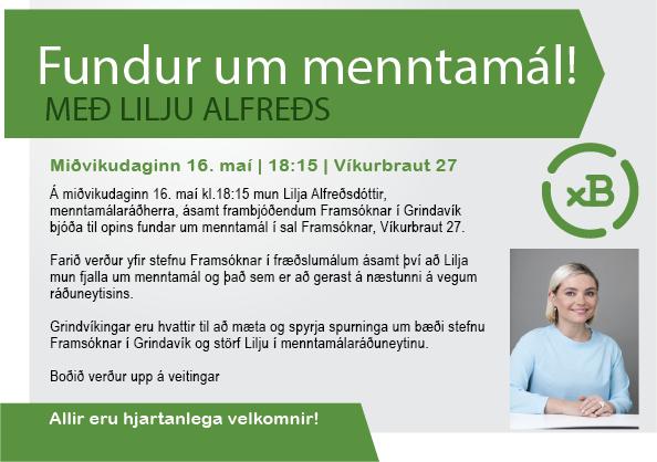 Framsókn býður til fundar með menntamálaráðherra