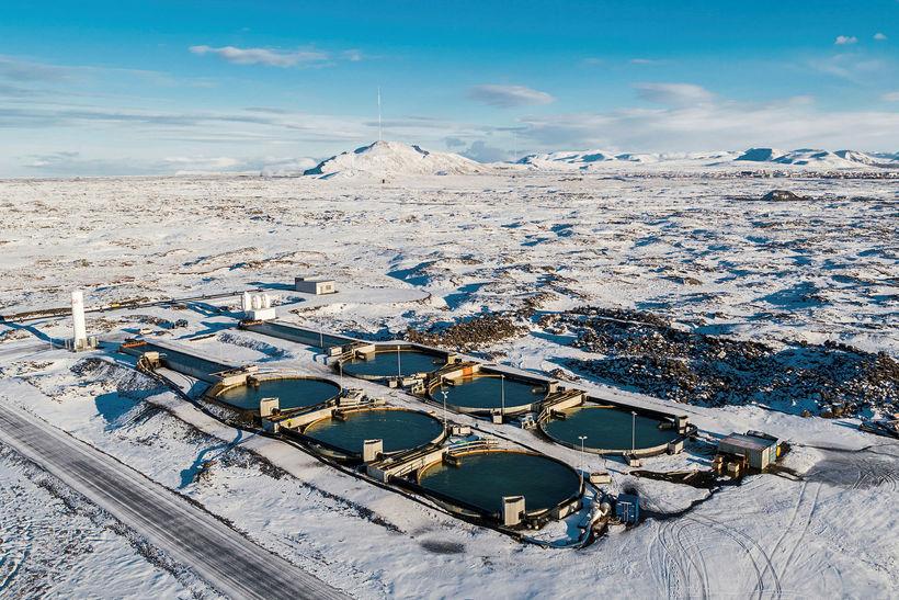 Mynd fyrir Kjöraðstæður fyrir fiskeldi við Grindavík