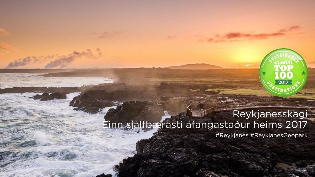 Könnun á viðhorfi íbúa gagnvart Reykjanes UNESCO Global Geopark og ferðamálum á svæðinu
