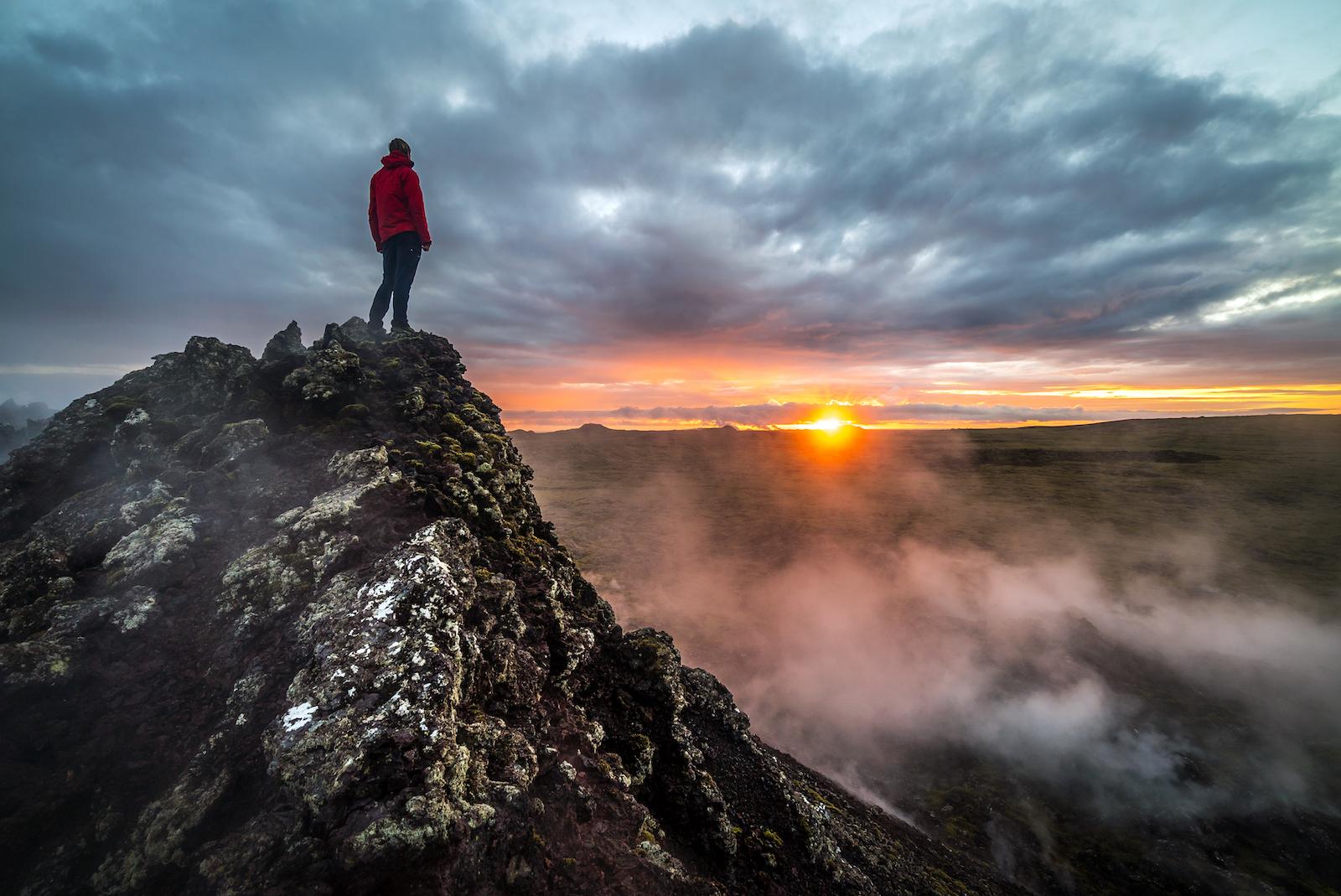 Mynd fyrir Þrír af hverjum fimm heimsækja Reykjanesið