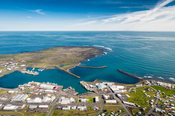 Grenndarkynning á óverulegri deiliskipulagsbreytingu við Efrahóp 6 og 8 í Grindavík.