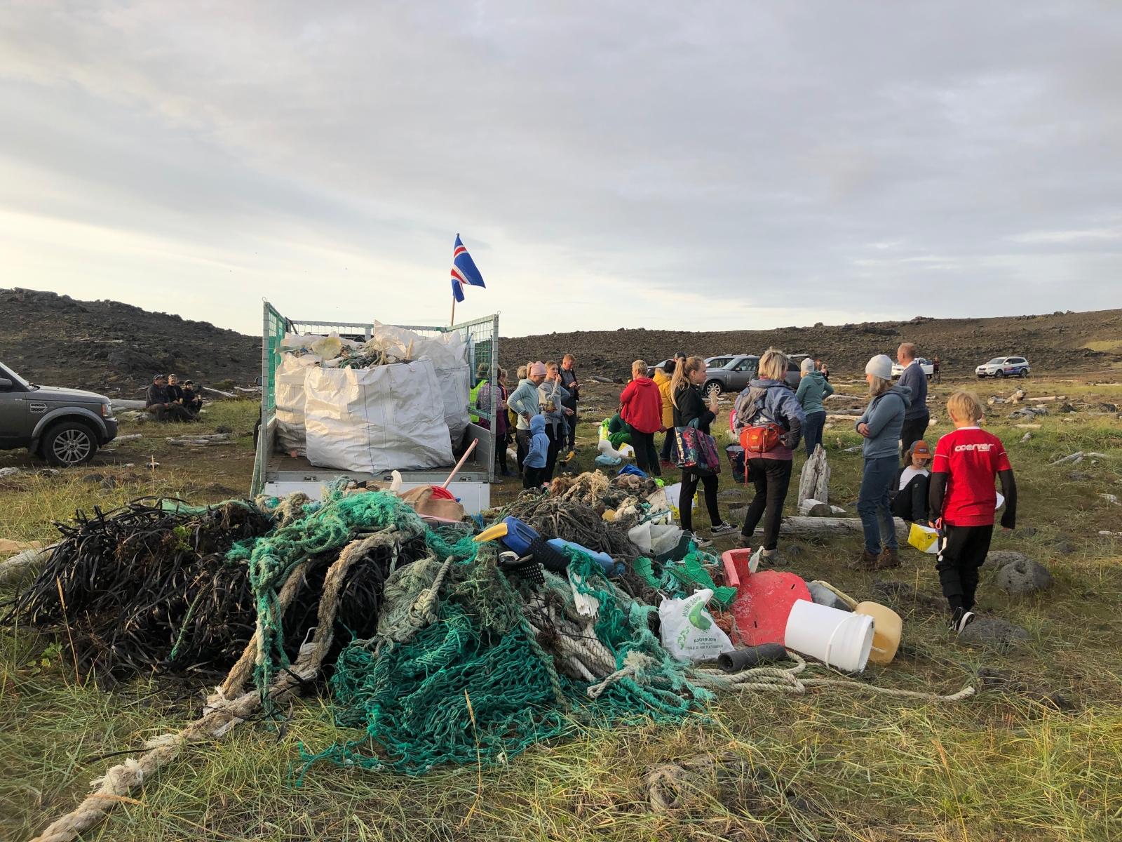 Hreinsað í Sandvík í dag á árlegum strandhreinsunardegi