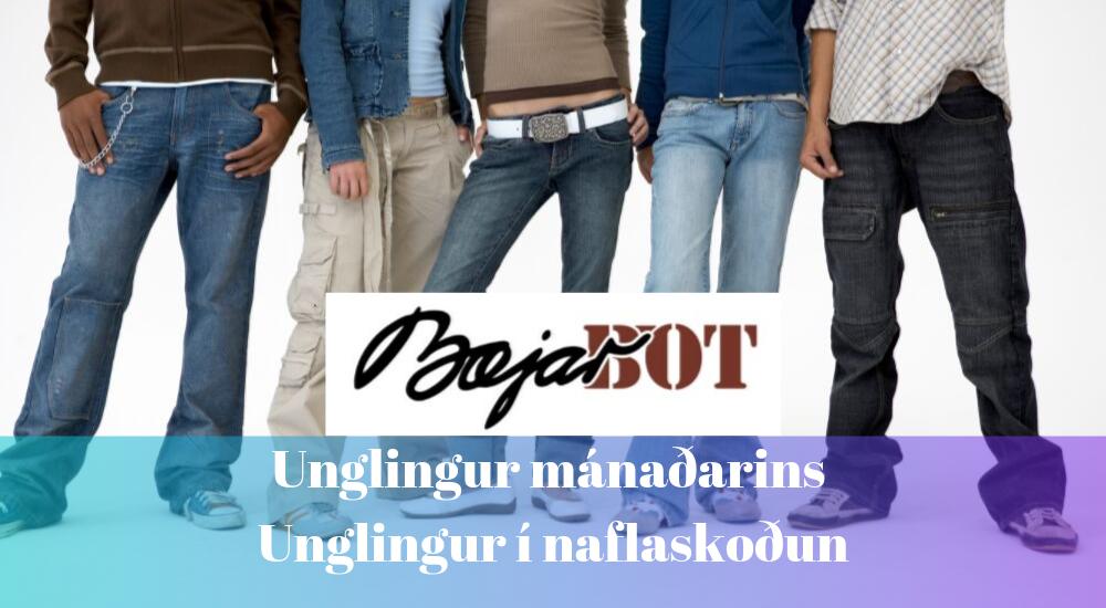 Unglingur mánaðarins / í naflaskoðun 30 ára
