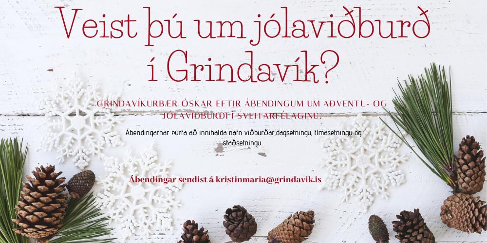 Óskað eftir upplýsingum um jóla- og aðventuviðburði