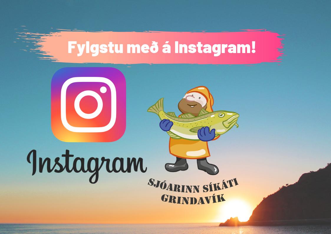 Fylgstu með á Instagram!