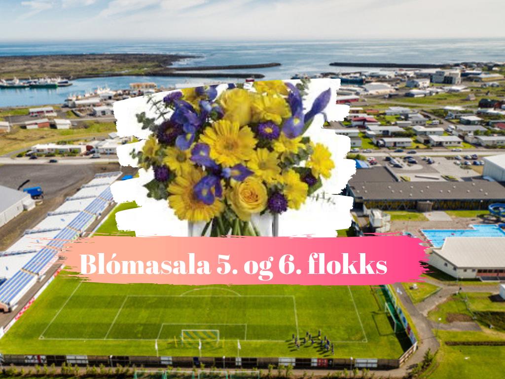 Mynd fyrir Blómasala 5. og 6. flokks kk í fótbolta