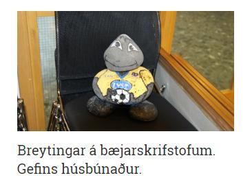 Mynd fyrir Aprílgabb