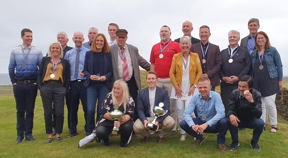Svana Hammer og Jón Júlíus meistarar í golfi 2019