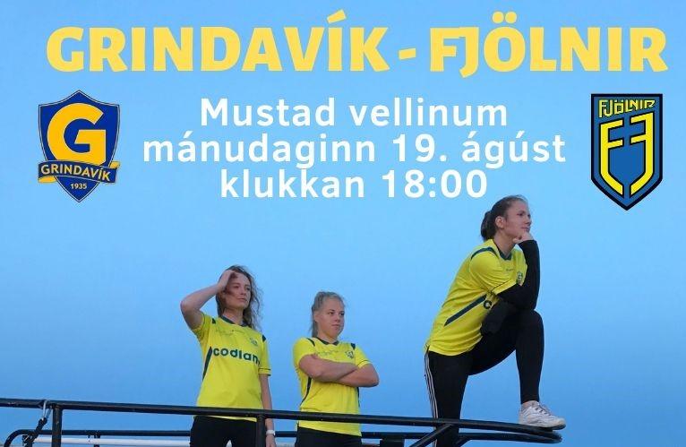 Mynd fyrir Grindavík  - Fjölnir í dag kl. 18:00