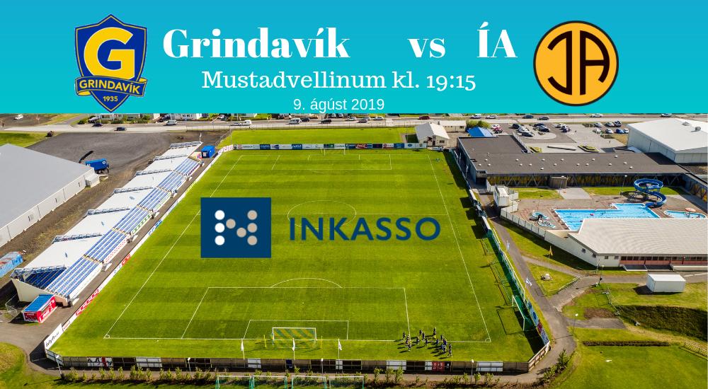 Grindavík tekur á móti ÍA í Inkasso-deildinni