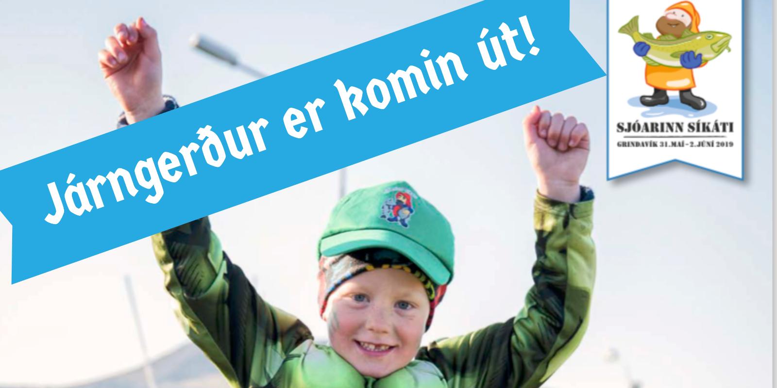 Járngerður er komin út - tileinkuð Sjóaranum síkáta