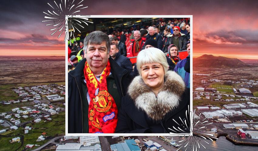 Hjónin Elín Þorsteinsdóttir og Sverrir Vilbergsson Grindvíkingar ársins 2019