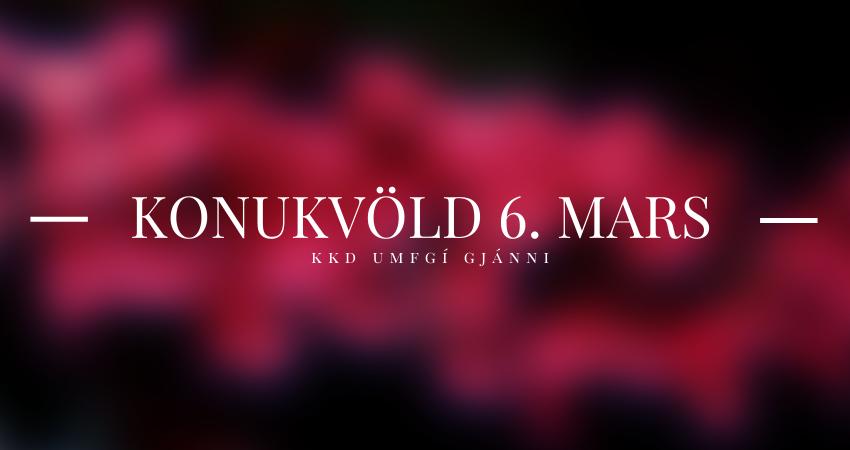 Mynd fyrir Konukvöld