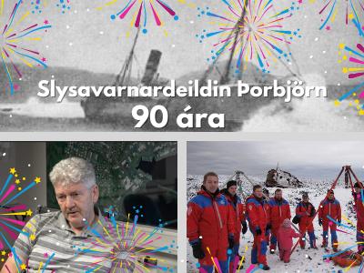 Slysavarnadeildin Þorbjörn 90 ára í dag