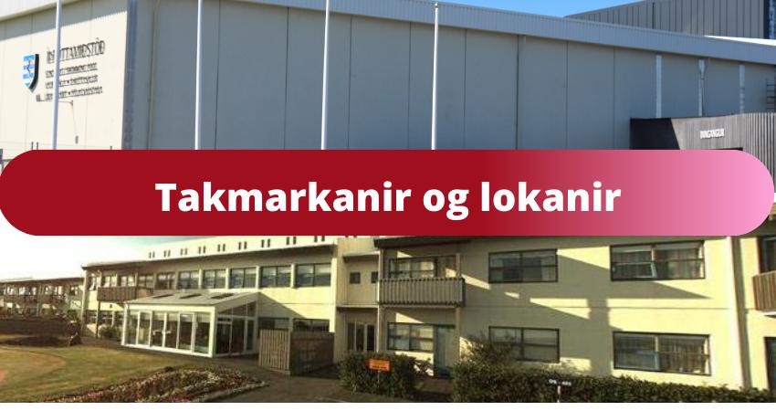 Mynd fyrir Takmarkanir í Víðihlíð og íþróttamiðstöð