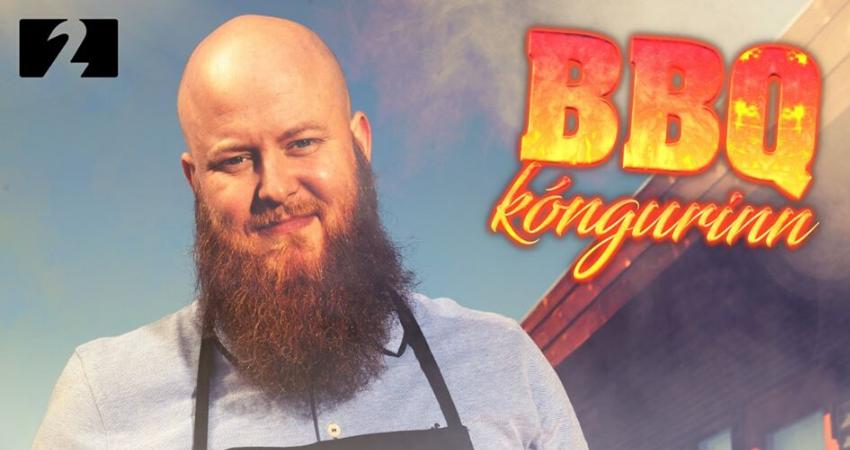 Mynd fyrir Grindvíski BBQ kóngurinn byrjar á Stöð 2 annað kvöld