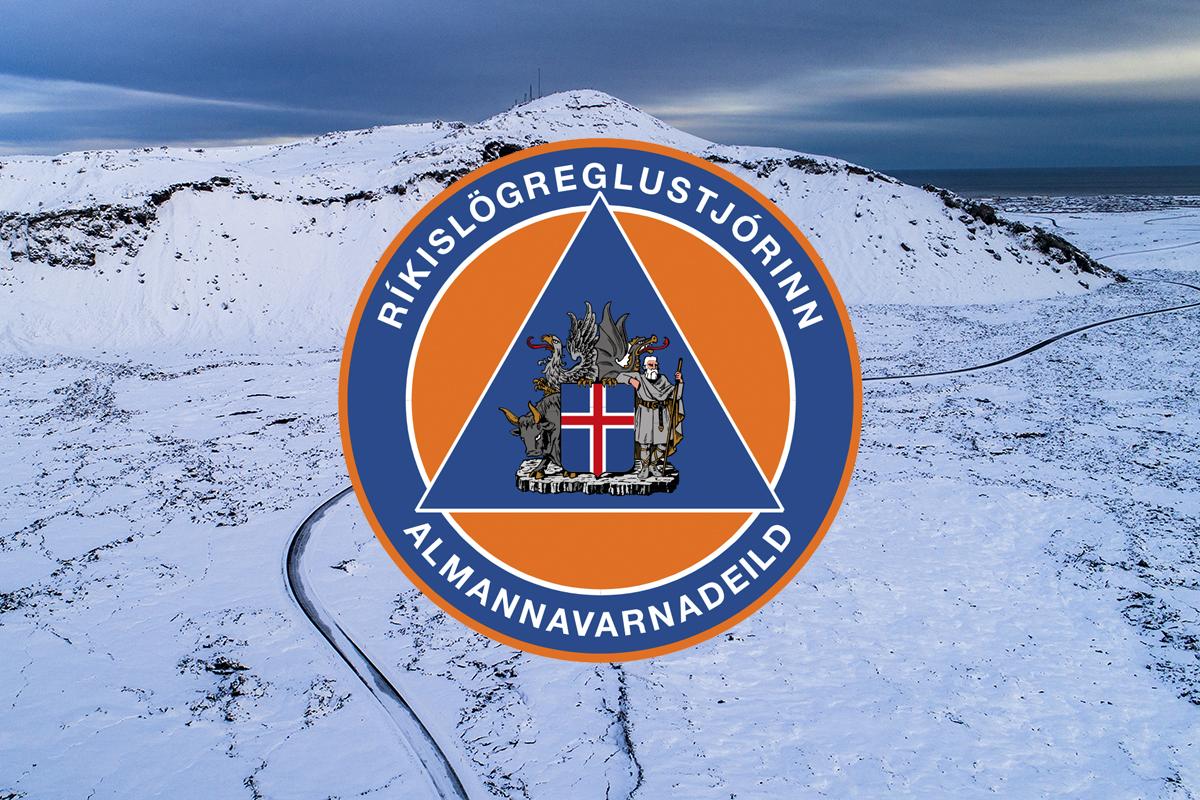 Mynd fyrir Almannavarnir: Svona er staðan núna