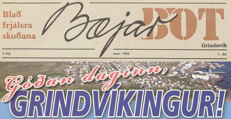 Bæjarbót og Góðan daginn, Grindvíkingur aðgengileg á timarit.is