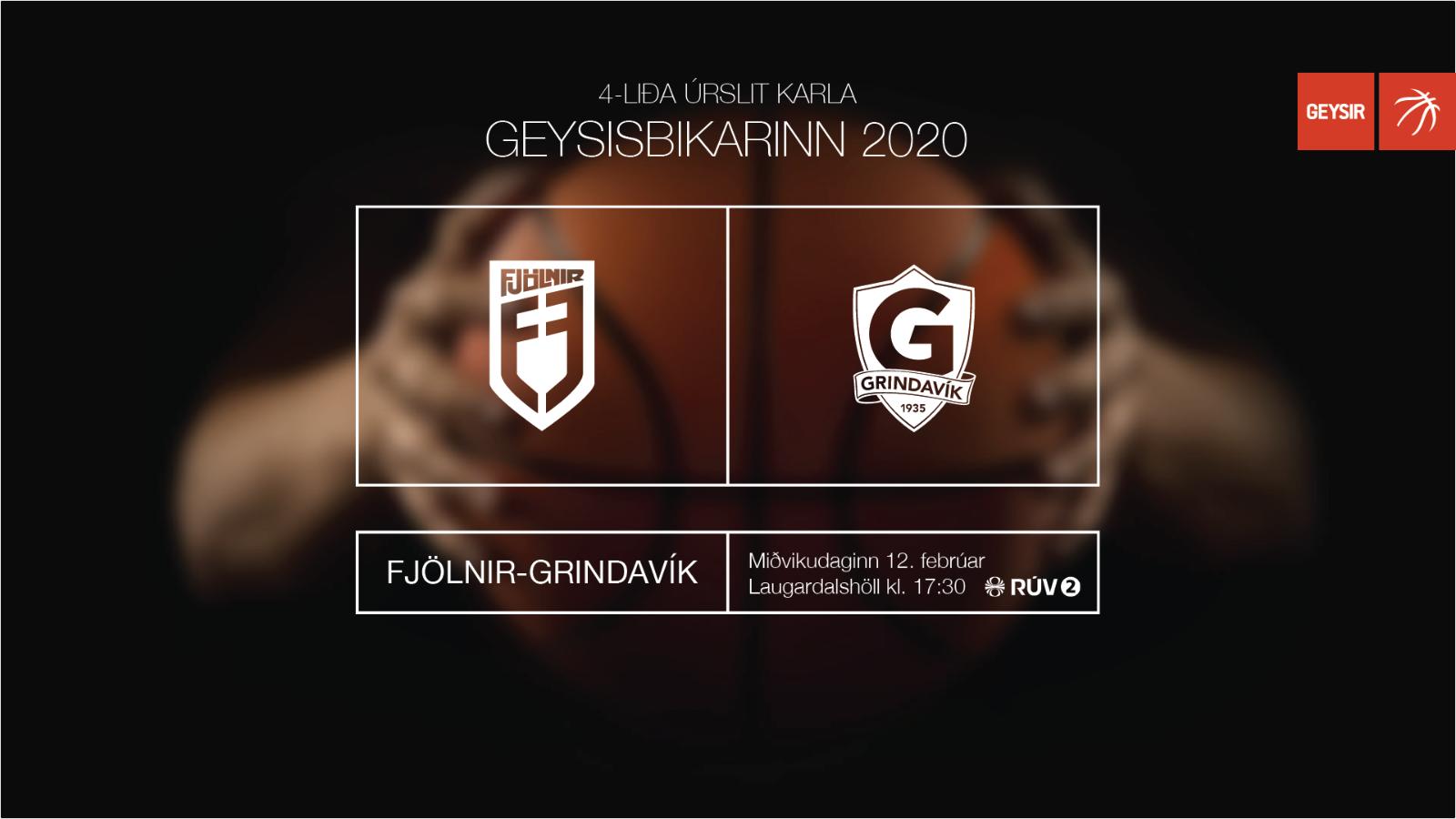 Mynd fyrir Grindavík í undanúrslit í bikarnum - tryggðu þér miða!