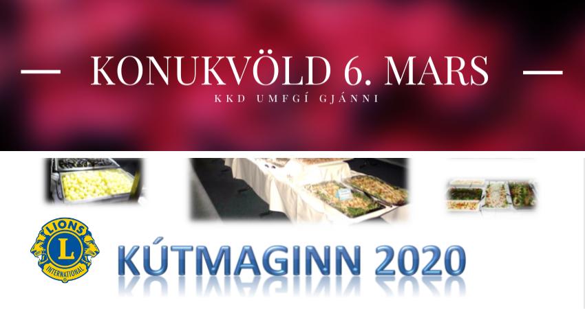 Kútmaginn og Kvennakvöld KKD. UMFG í kvöld