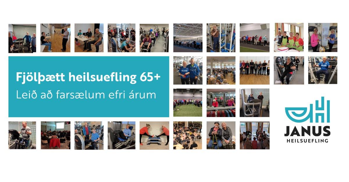Kynningarfundur - Fjölþætt heilsuefling 65+ í Grindavík