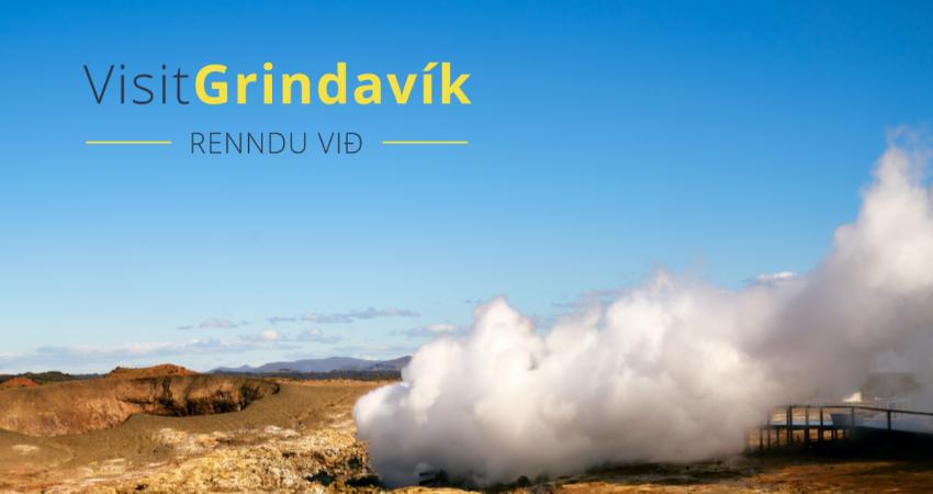 Mynd fyrir Nýr Visit Grindavík vefur kominn í loftið