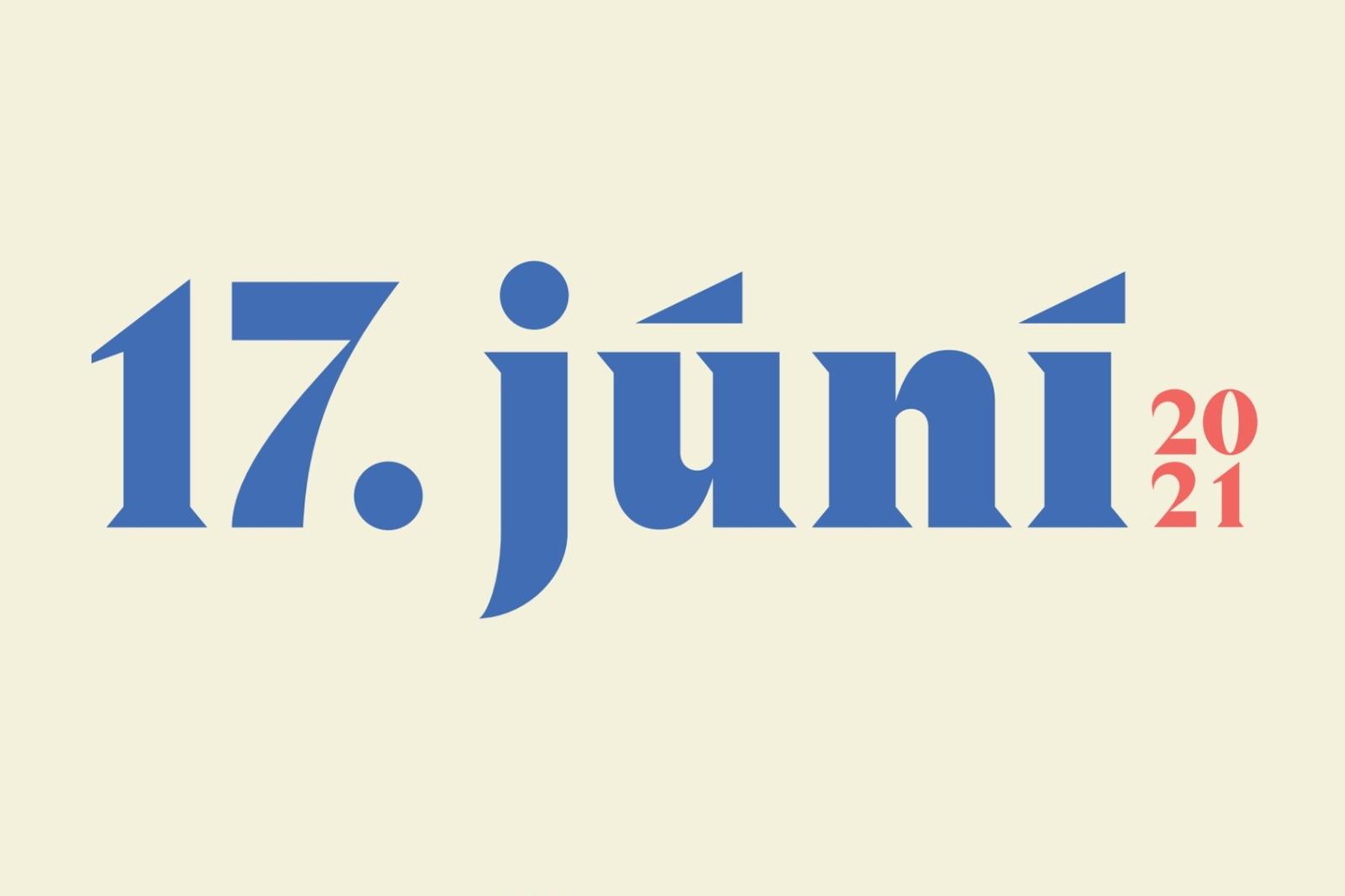 Mynd fyrir 17. júní 2021 í Grindavík