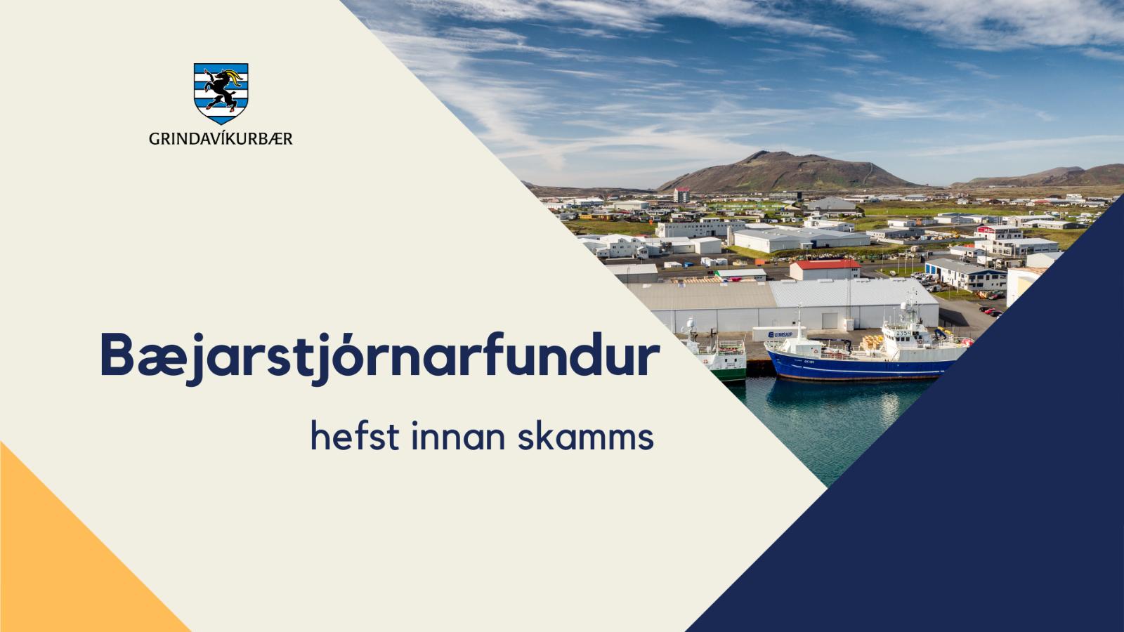Mynd fyrir Upptaka frá 517. fundi bæjarstjórnar ásamt fundargerð