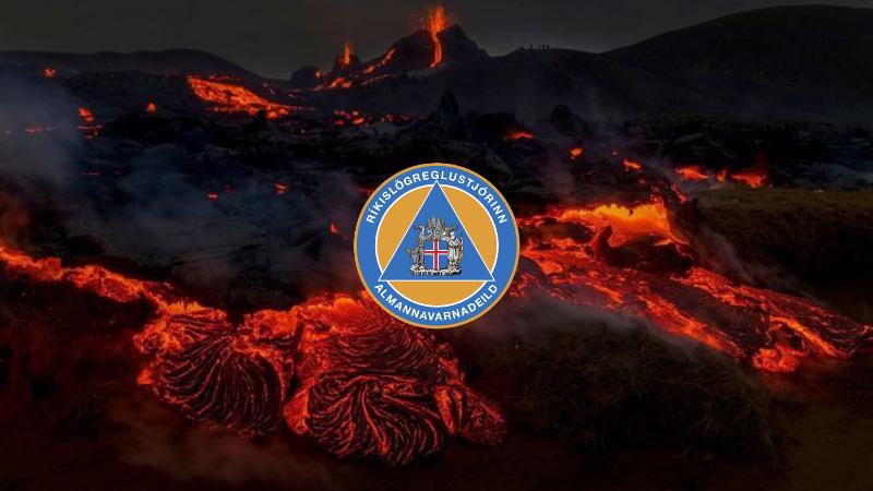 Mynd fyrir Almannavarnadeild ríkislögreglustjóra boðar til upplýsingafundar í dagklukkan 11:00