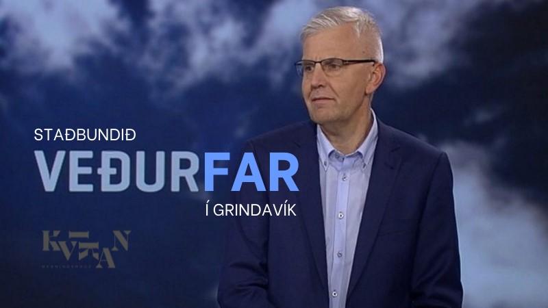 Mynd fyrir Fyrirlestur um staðbundið veðurfar í Grindavík