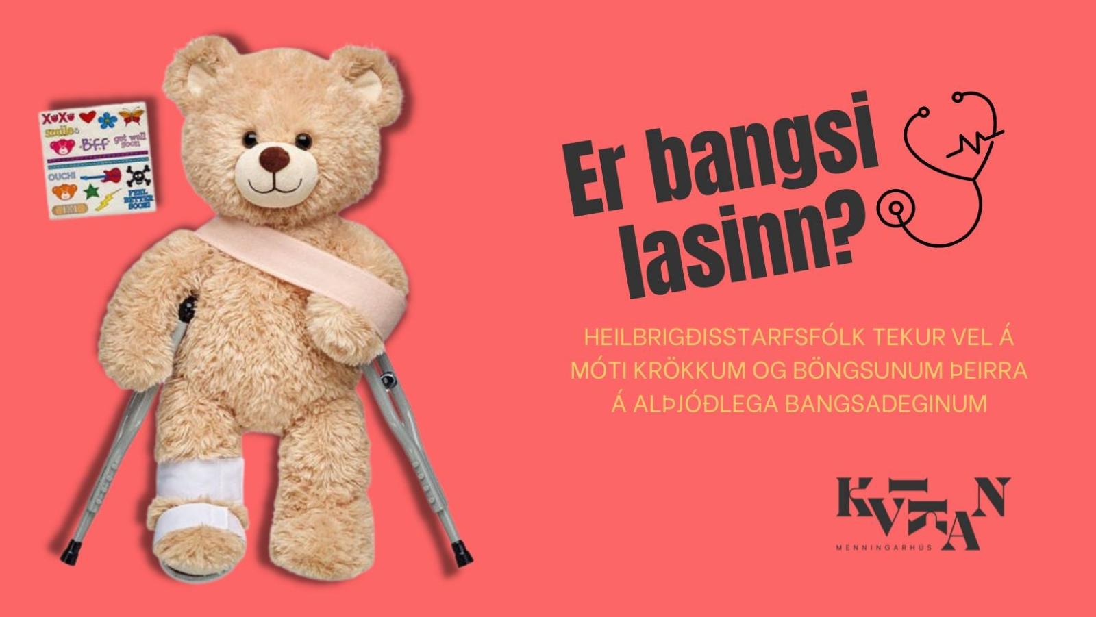 Mynd fyrir Bangsaspítali í Kvikunni