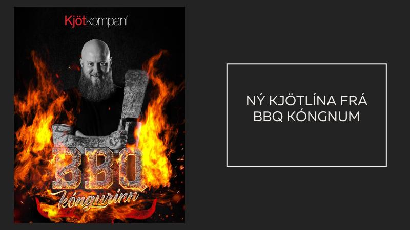 Mynd fyrir BBQ kóngurinn með eigin kjötlínu í Krónunni
